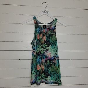 H&M watercolor tank top